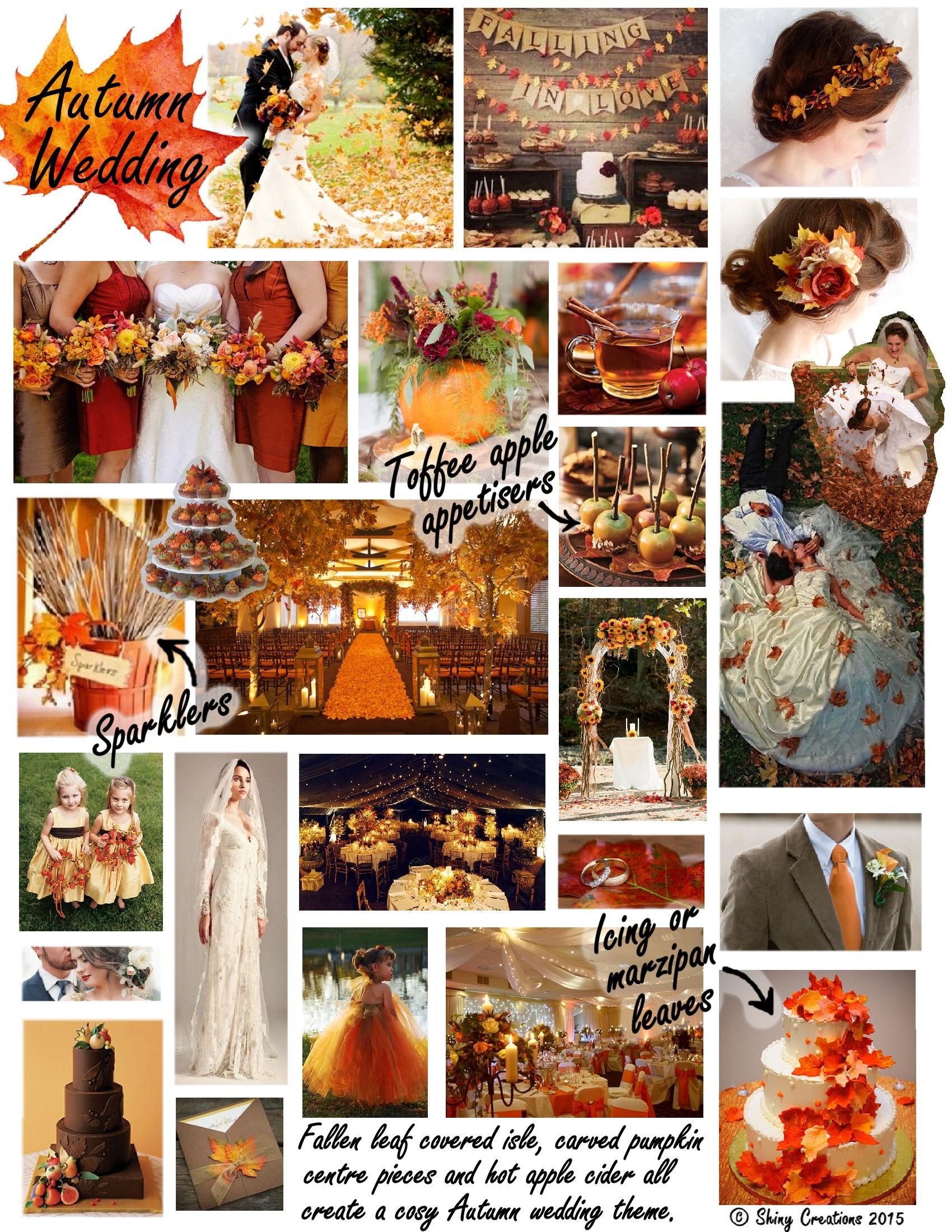 AutumnThemed Wedding