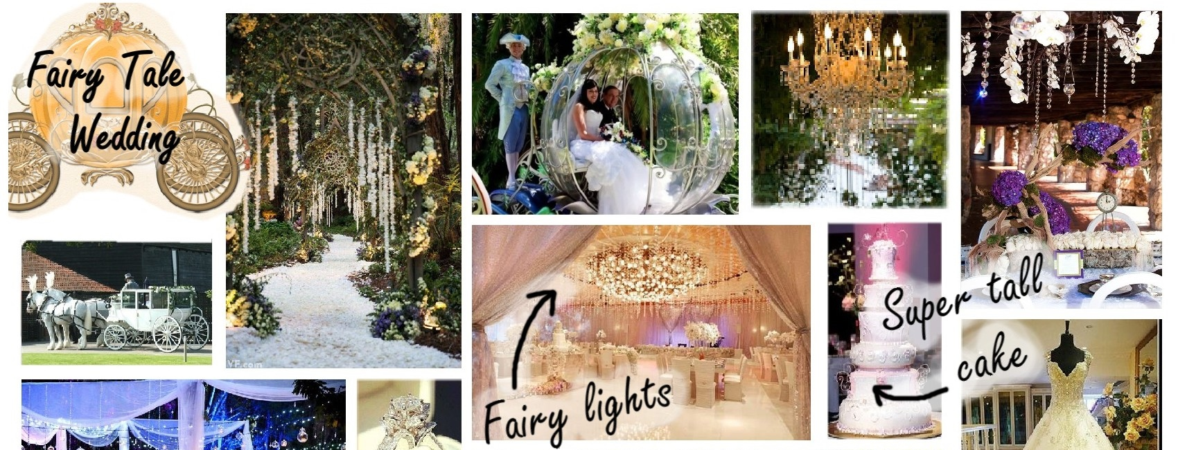 Fairy Tale Wedding Ideas - ShinyCreations