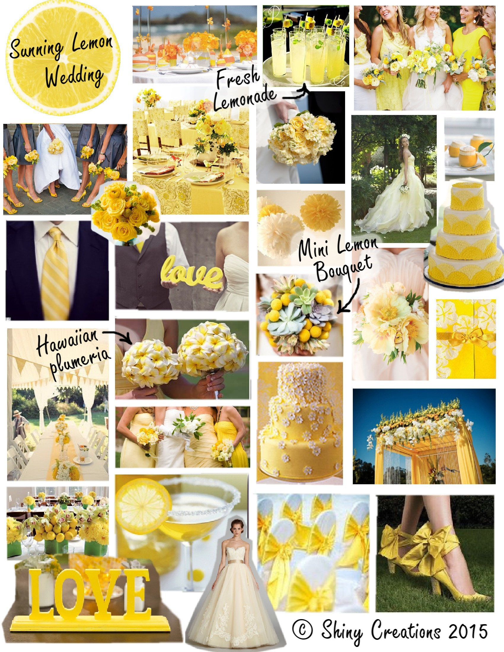 Sunny Lemon Wedding