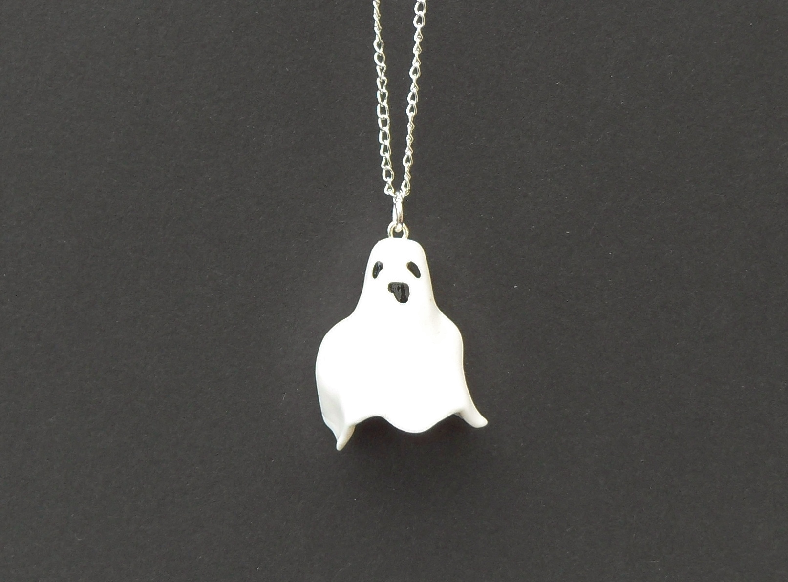Halloween, spooky, creepy, cute, trick or treat, horror, handmade, novelty, season, kitsch, fan, jewellery, accessories, quirky, spooks, ghost, charm, necklace,