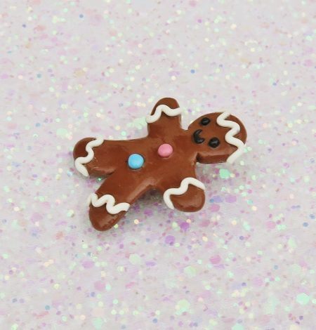 Handmade, Fimo, clay, polymerclay, jewellery, jewelry, novelty, Christmas, festive, cute, craft, gift, present, for her, for him, sweet, biscuit, ginger bread, man, statement, brooch, tie pin,