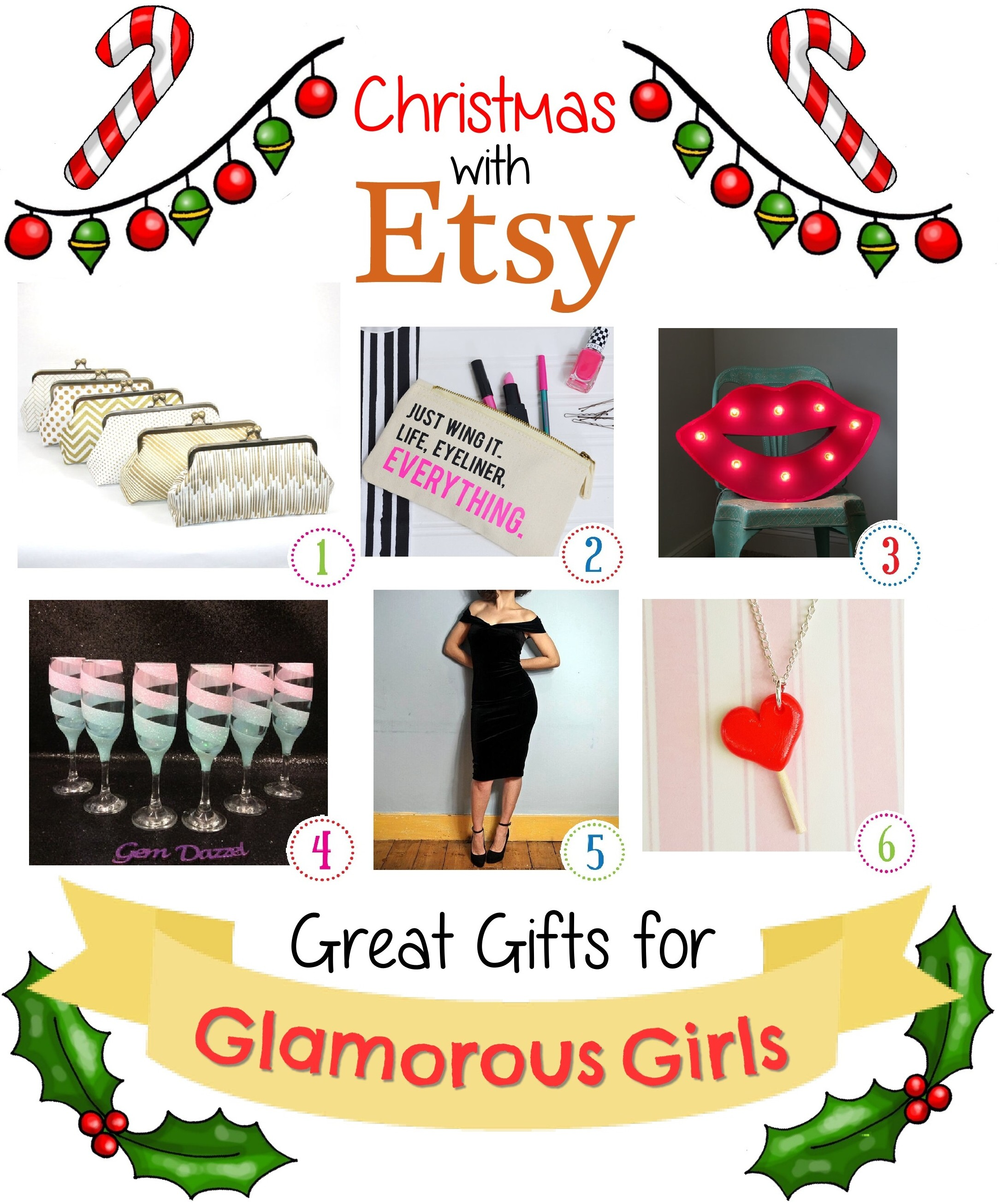 etsy christmas gifts for glamourous girls