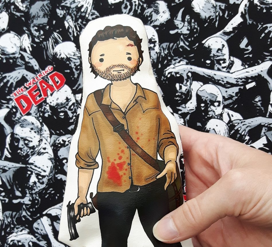 Rick Grimes- The Walking Dead inspired Cartoon, Cuddly ...