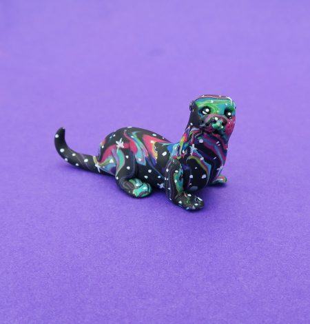 Spirit animal, spirit animals, totem, patronus, spirit guide, figure, figurine, cute, mystical, mythical, magical, spiritual, Native American, novelty, gift, handmade, fimo, polymer clay, animal lovers, mini, miniature, pets, ornament, tiny, otter, otters,